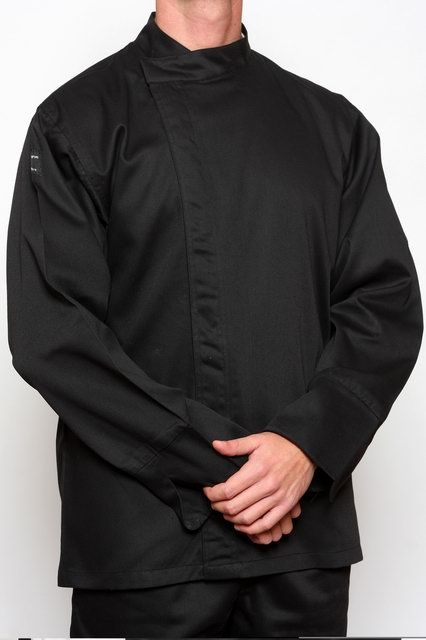 Black Chef Tunic