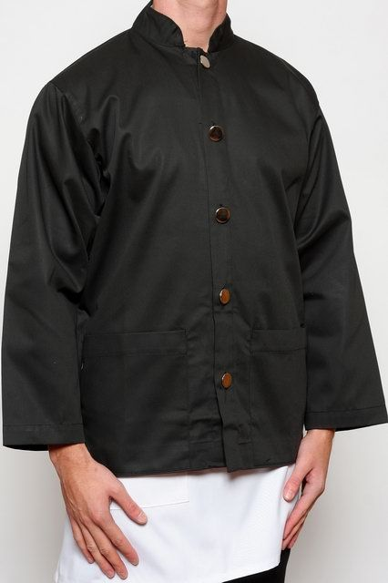 Black Classic Waiters Jacket