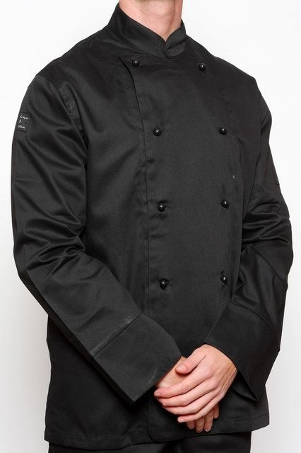 Black Traditional Chef Jacket