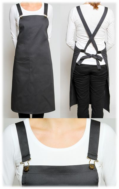 Detachable Cross Over Aprons