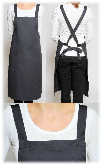 European Cross Over Aprons