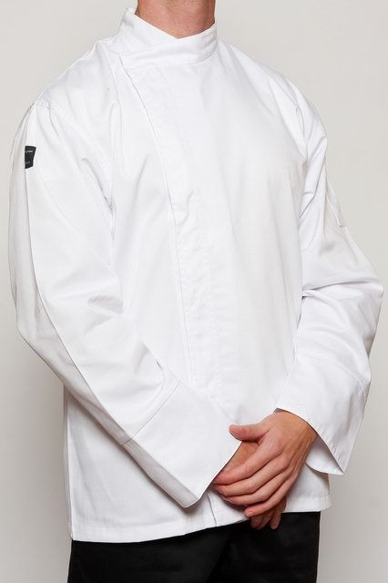 White Chef Tunic
