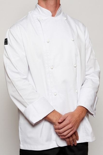White Classic Chef Jacket