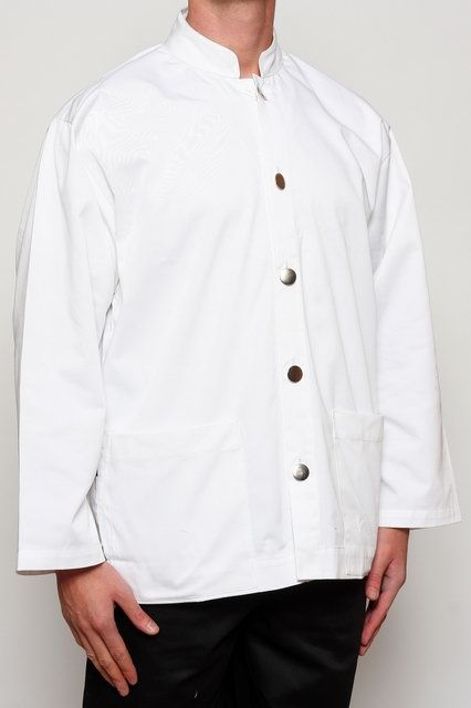 White Classic Waiters Jacket