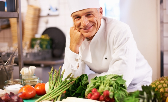 what makes you a professional chef